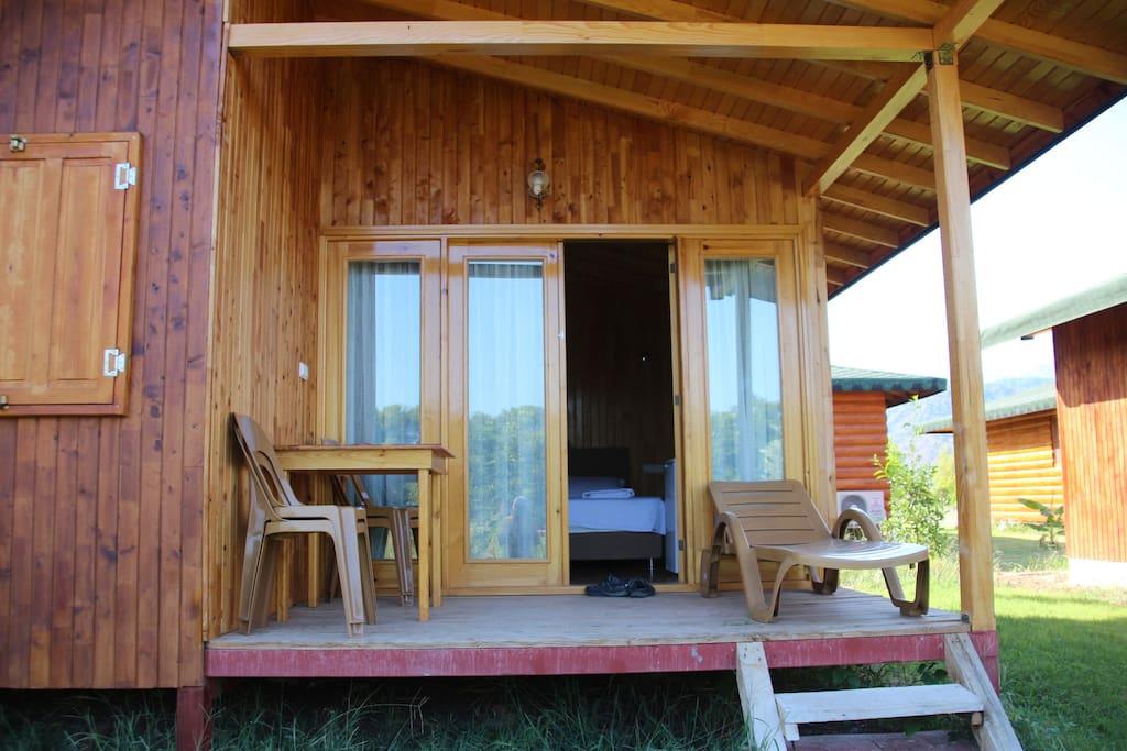 Aile bungalowu 2 yatak odalı