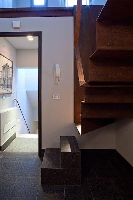 Accesso appartamento