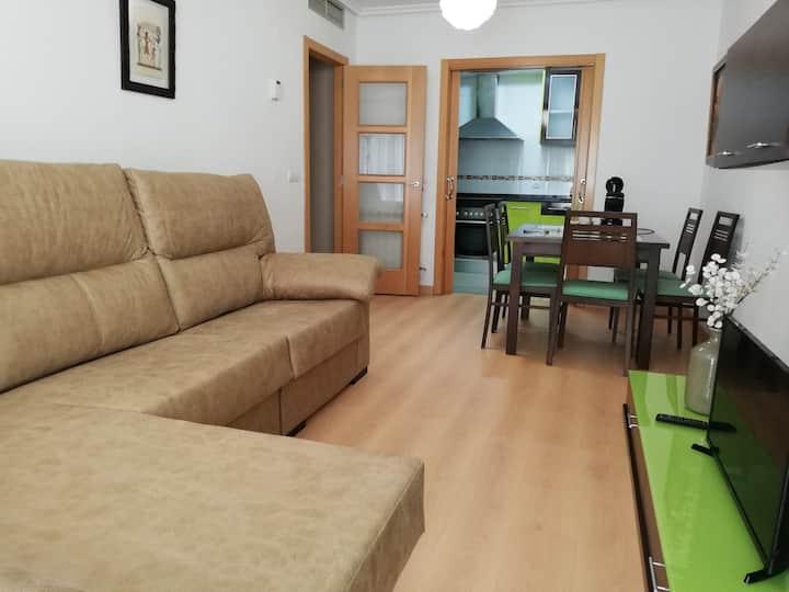 Apartamento acogedor, céntrico y nuevo