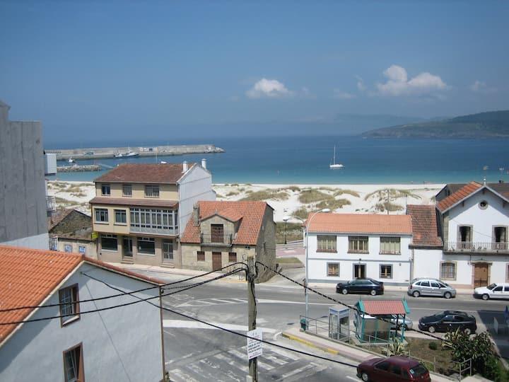 Laxe Apartamento frente a la playa en el centro