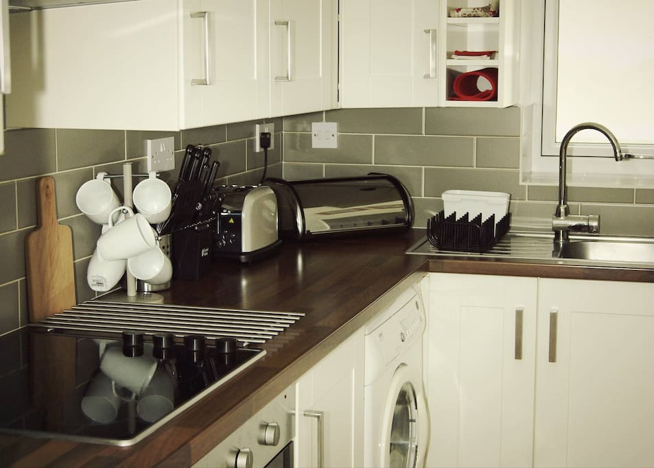 The nook on isle of bute wheelchair friendly for Disabled friendly kitchens