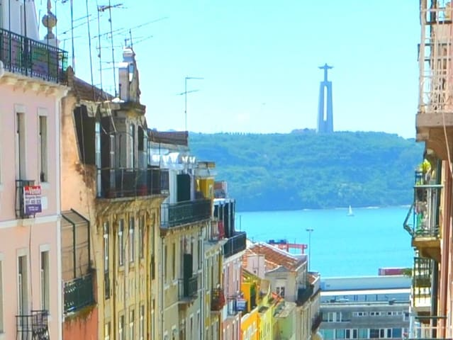 3 bedrooms for 10 guests. Tejo view - Lisboa - Byt