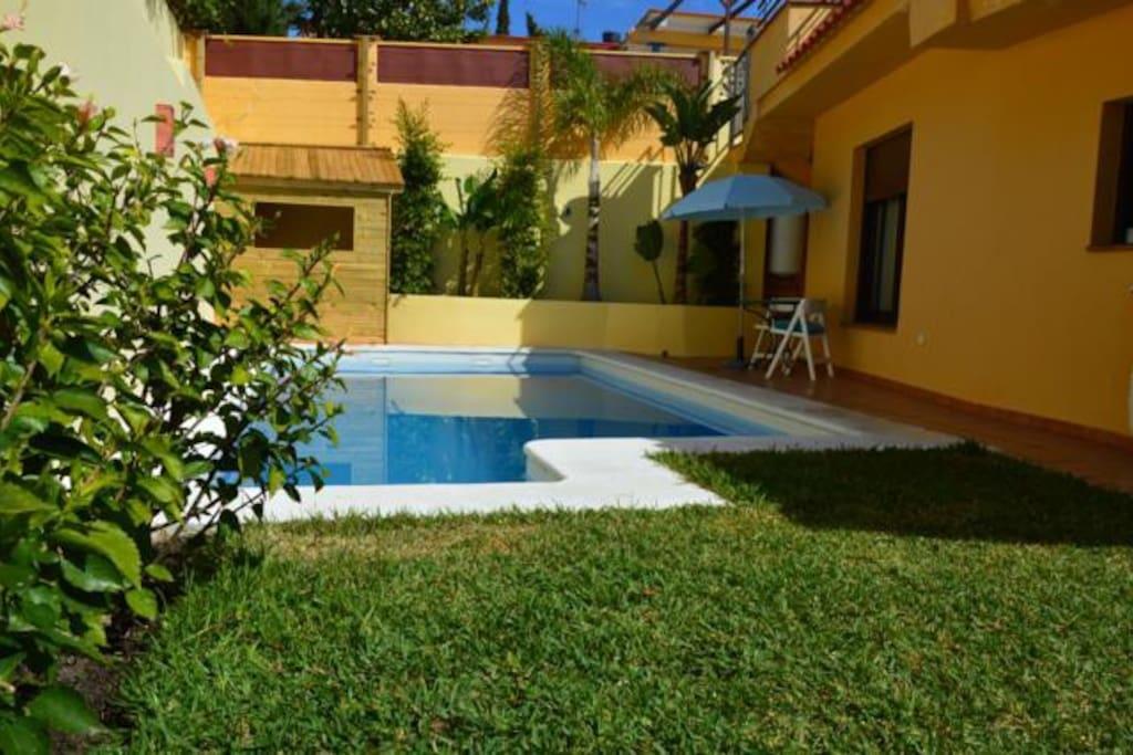 Bonita casa con piscina y jardin casas en alquiler en - Alquiler casa almunecar ...