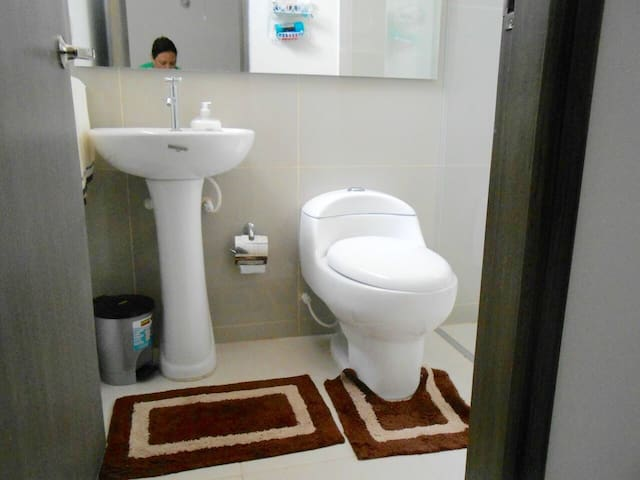 Baño / Private bathroom