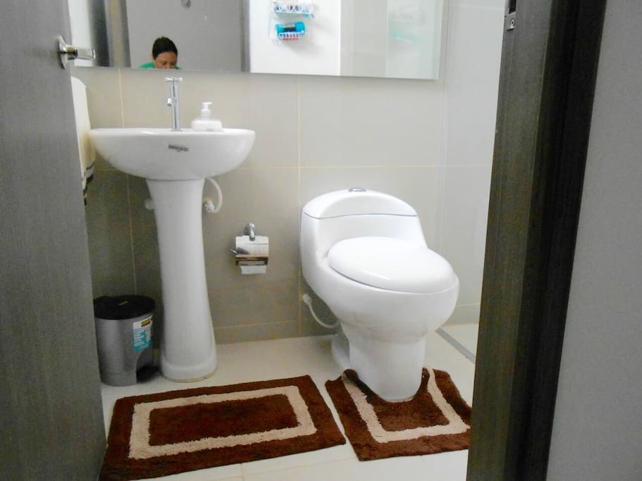 Baño / Private bathroom