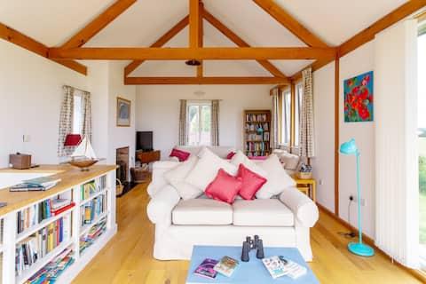 Unique house for six with wonderful Dorset views