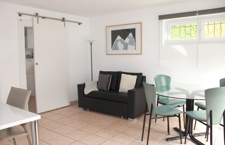 Bright, independent 2 room flat - Montreux - Apartment
