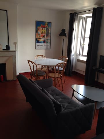 APPARTEMENT AUCOEUR DU MOURILLON TOULON 100M PLAGE