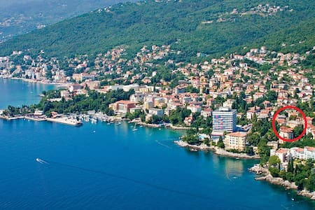 Comfortable apartment (+ parking) in the centre - Opatija - Apartment