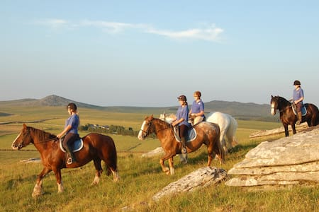 Hallagenna Riding & Holiday Cottage - St Breward