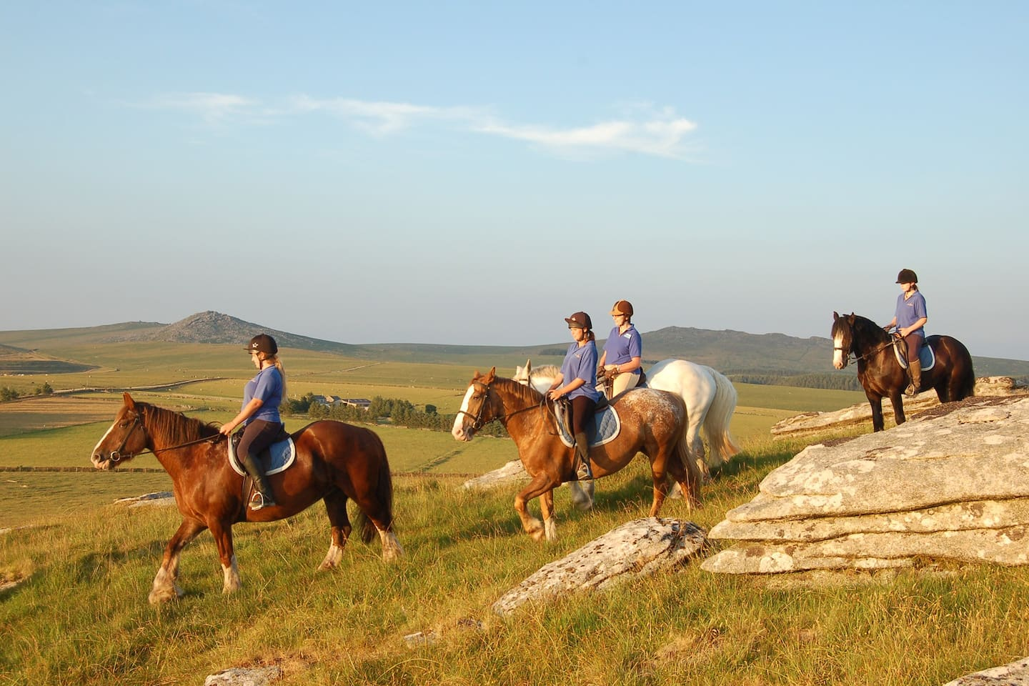 Hallagenna Riding and Cottage Holidays - a haven for riders and non-riders alike!