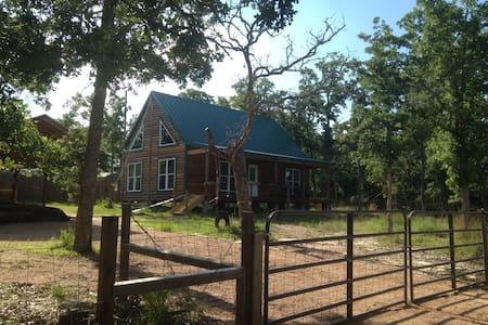 Rustic Cabin Near Lake Somerville - Somerville - Huis