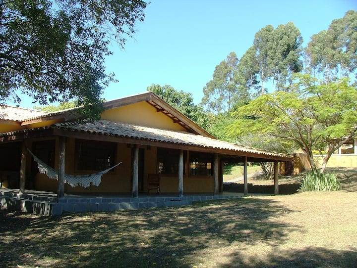 Casa sede de Haras com piscina