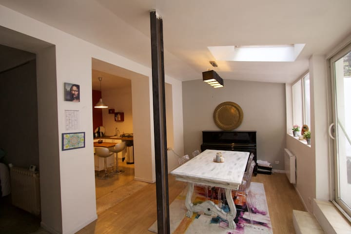 Appartement atypique dans quartier authentique - Marsella - Departamento