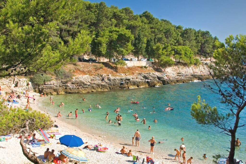 Stoja beach 15 min.walk