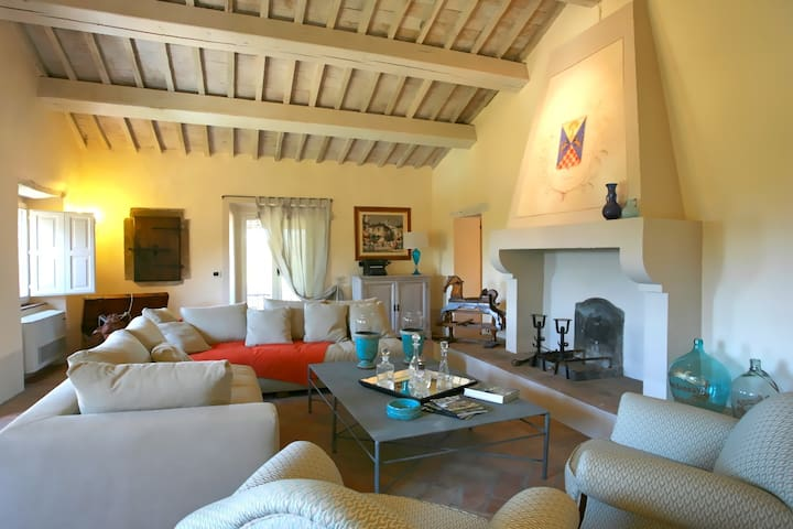 Luxury Villa sleeps 14 people - San Casciano dei Bagni - Casa