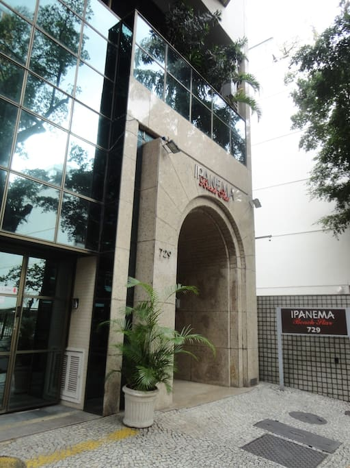 Main Entrance of the building