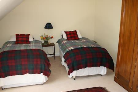 Cosy twin room - Bed & Breakfast