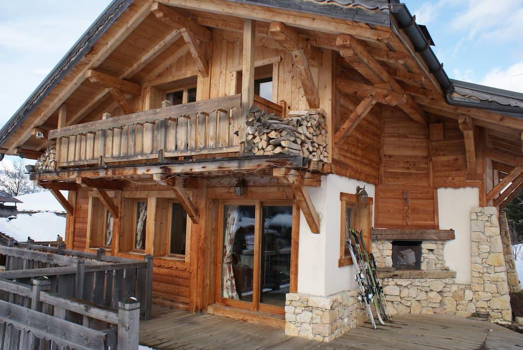 Chalet ski-in ski-off