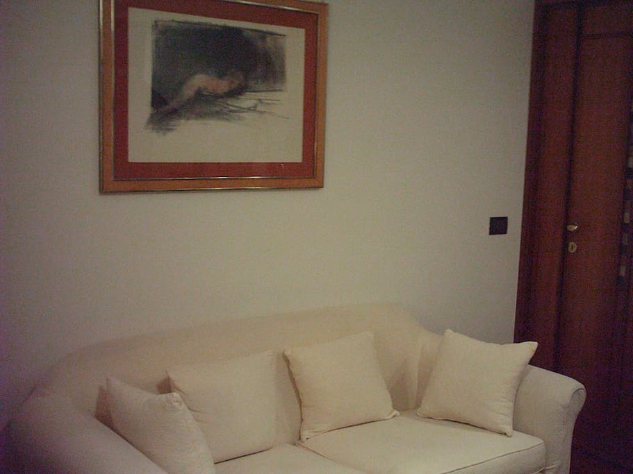 Zona conversazione del soggiorno