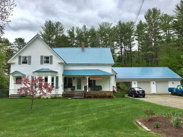 The Fox Hill House, escape to the White Mountains