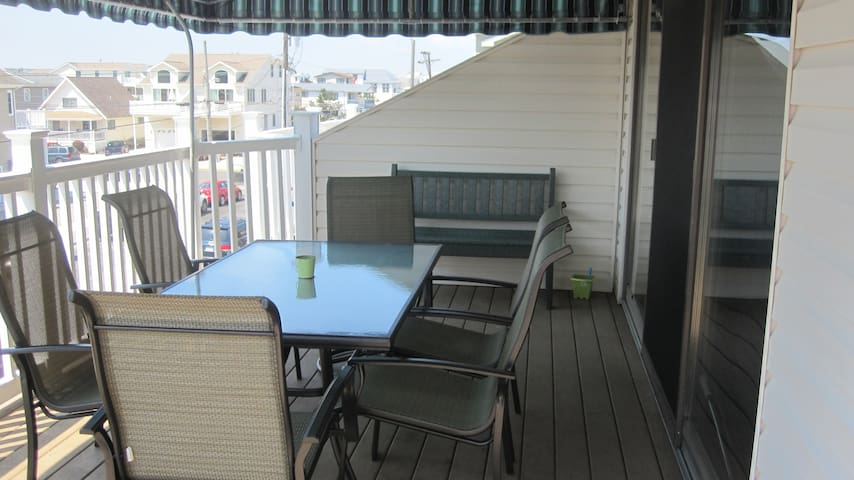 Deck off of the Living Room