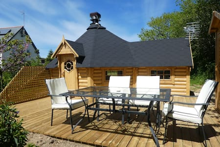 Glamping Luxury Cabin, BBQ, South Molton, Exmoor