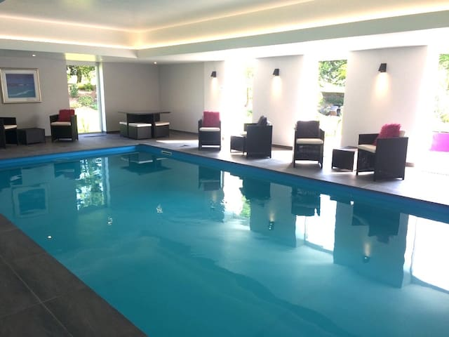.... and Indoor Spa Pool!