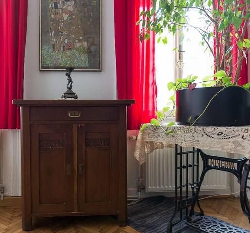 ღ City ART NOUVEAU Charme + terrace - Wien - Haus