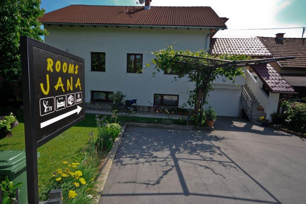Rooms Jana house
