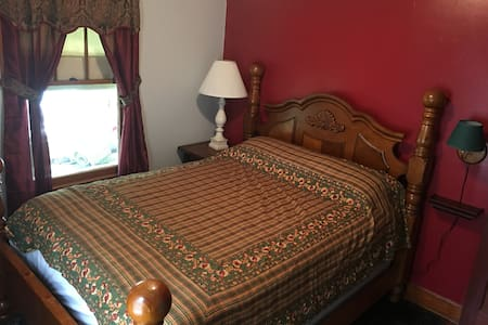 Red Room at Marquis Maison, Hudson NY