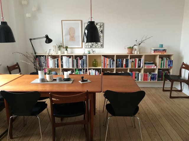 Central spacious apartment. - Aarhus - Apartment