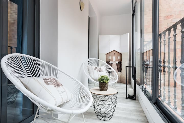BARCELONA | STYLISH 2 BEDROOM | FAMILY APT  ¦