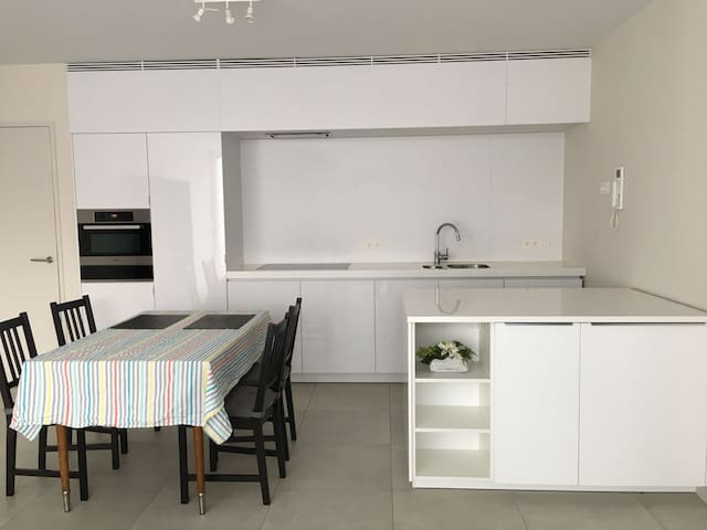 Modern apartment in the center of Leuven
