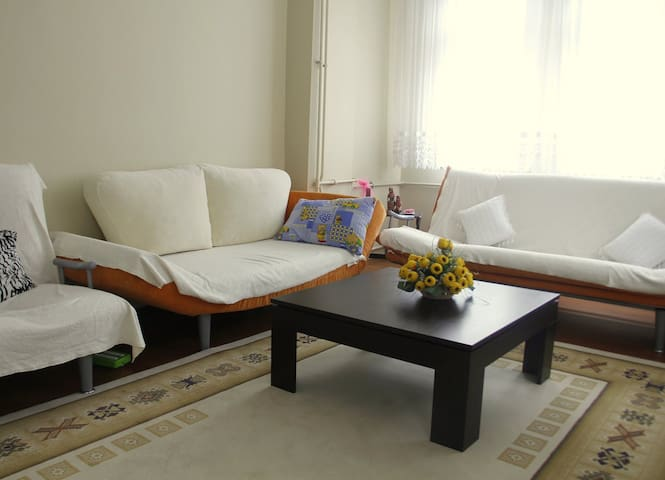 Two-Bedroom with Balcony (7 Adults) - Trabzon - Huoneisto