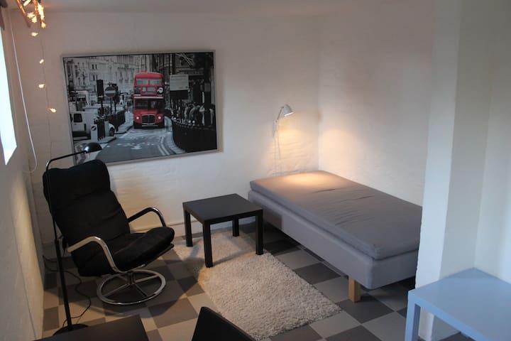 Mysigt rum i villa med trädgård - Lund - Hus