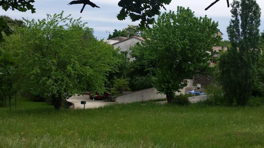 Maison dans un havre de verdure - Chomérac - Rumah