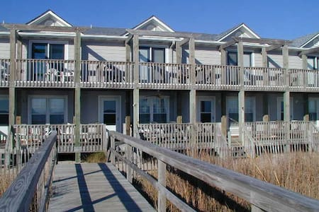 Beautiful Oceanfront Townhome - Kure Beach - Complexo de Casas