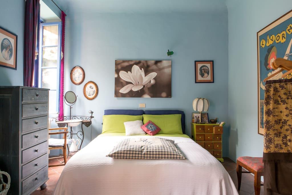La stanza sul cortile bed breakfast in affitto a brescia lombardia italia - Tastiera del letto ...