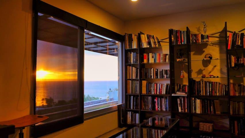 indoor living/tv room