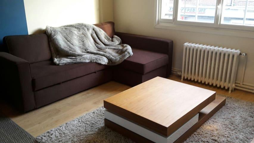 Grand appartement, refait à neuf! - Amiens - Daire