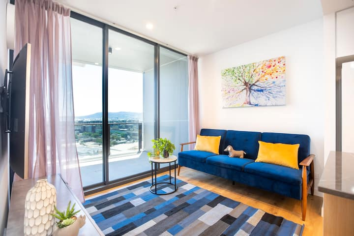 🧭Timeless Breathtaking RiverView Sky1BR|Southbank🧭