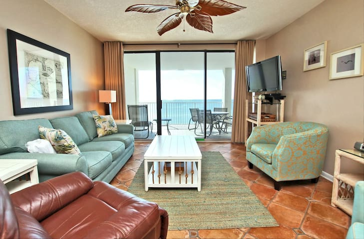 Pelican Pointe 803 - Recently Updated Beach Escape!  Amazing views from the private balcony   Centrally Located in Orange Beach.  Close to shops, Restaurants and Attractions!