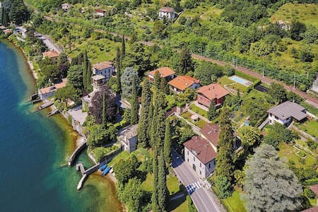 PANORAMIC VIEW AND SWIMMING POOL - Lierna - Byt