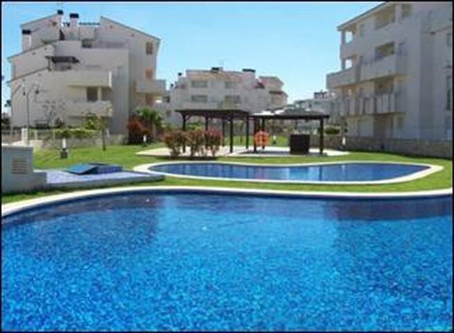Ático en playa Les Deveses (El Vergel) - Vergel - Apto. en complejo residencial