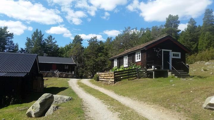 Sjarmerende seterhus i Reinheimen nasjonalpark
