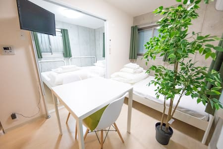 Shinjuku10min by train new apartment Max 5ppl 103