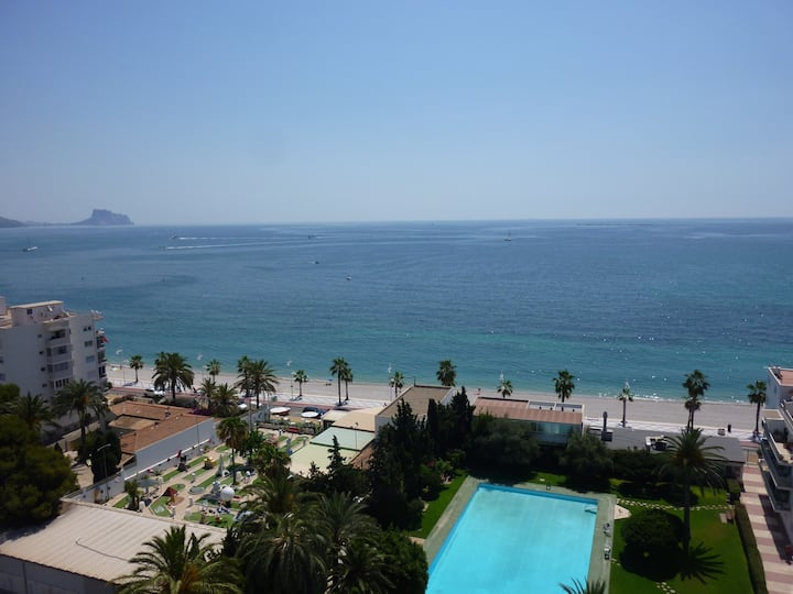 Apartment in Altea with pool and splendid sea view