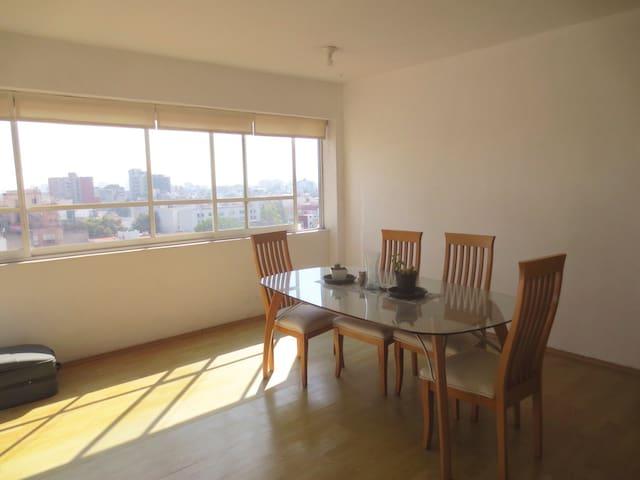 Comfy flat with amazing view! - Ciudad de México - Leilighet