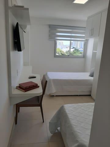 Suite com duas camas de solteiro
